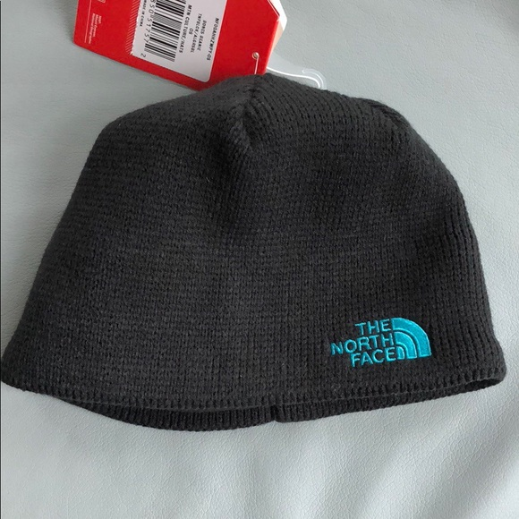 The North Face knit beanie winter hat fleece lined e5d0a07d9001
